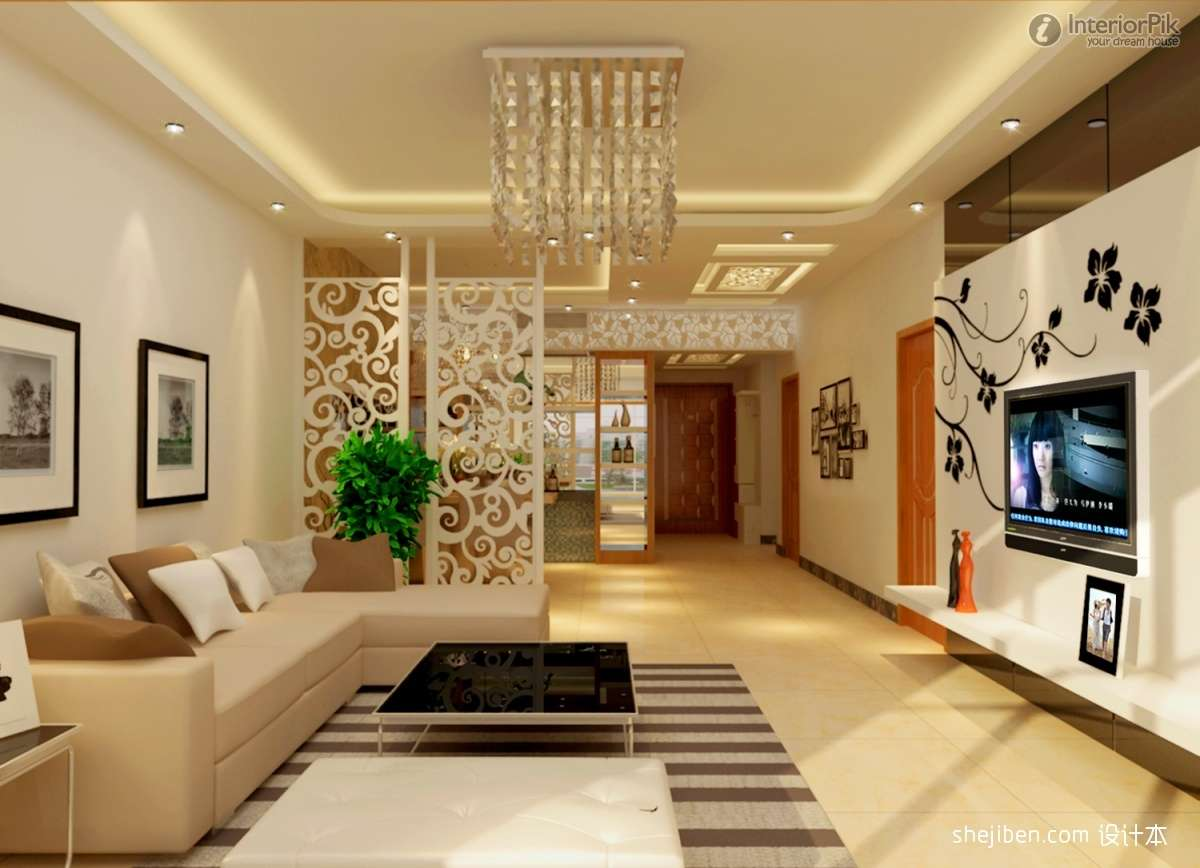 Drawing Room Wall Designs