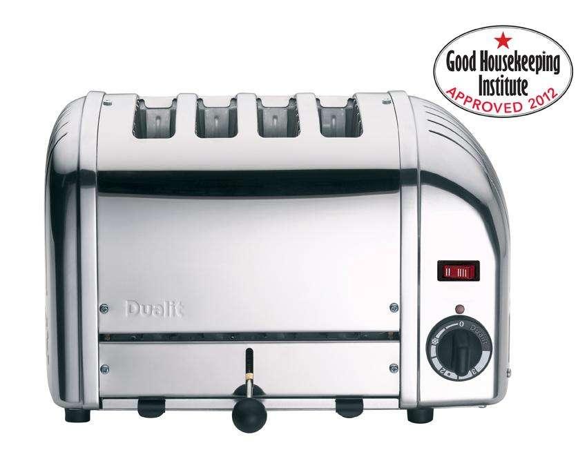 Dualit Slice Stainless Steel Toaster Amazon Kitchen