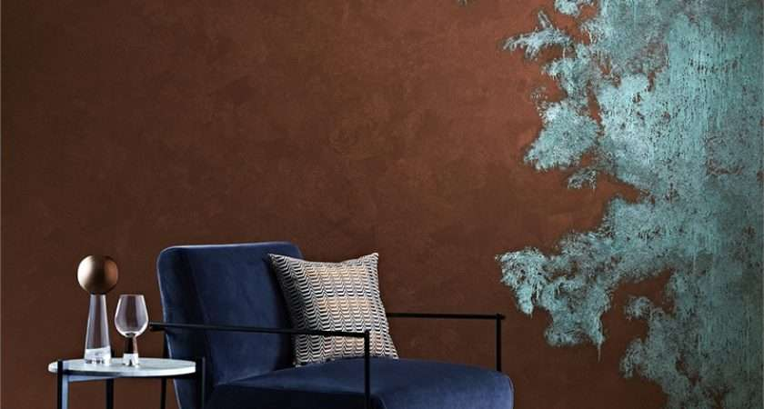 Dulux Design Copper Patina Effect Solution