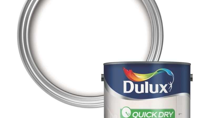 Dulux Pure Brilliant White Eggshell Wood Metal Paint