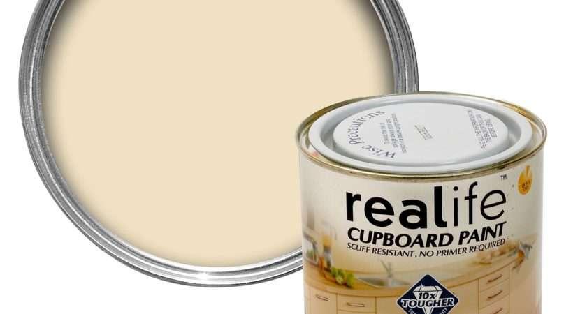 Dulux Realife Cream Satin Cupboard Paint