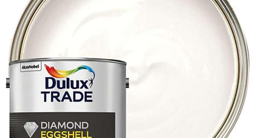 Dulux Trade Diamond Eggshell Emulsion Paint Pure