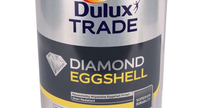 Dulux Trade Diamond Eggshell Paint Pure Brilliant White