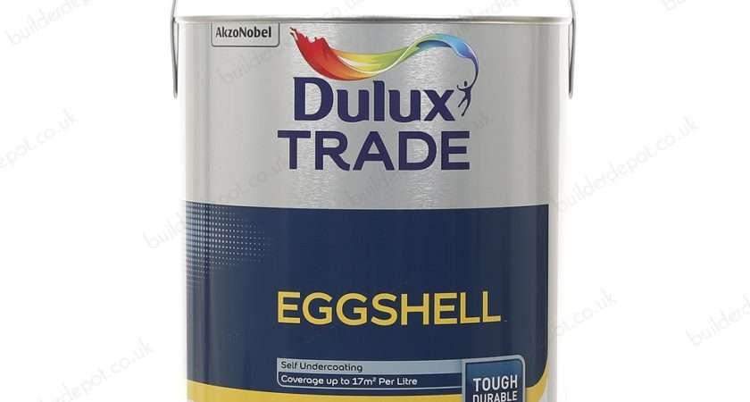 Dulux Trade Eggshell Brilliant White