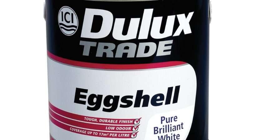 Dulux Trade Internal Pure Brilliant White Eggshell Paint