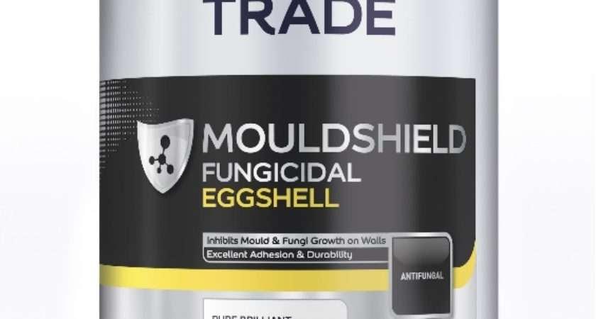 Dulux Trade Mouldshield Fungicidal Eggshell Pure Brilliant
