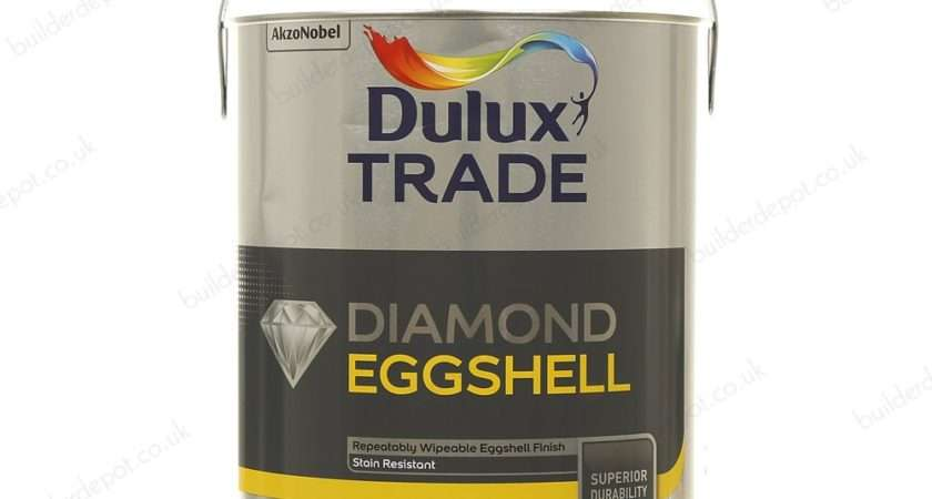 Dulux Trade Quick Drying Brilliant White Eggshell