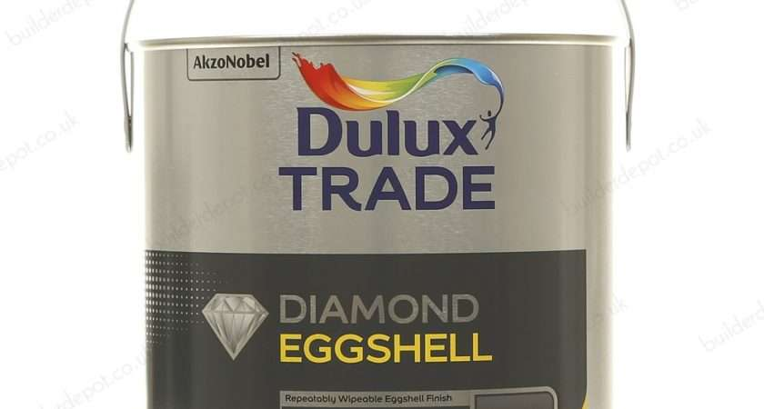 Dulux Trade Quick Drying Eggshell Brilliant White