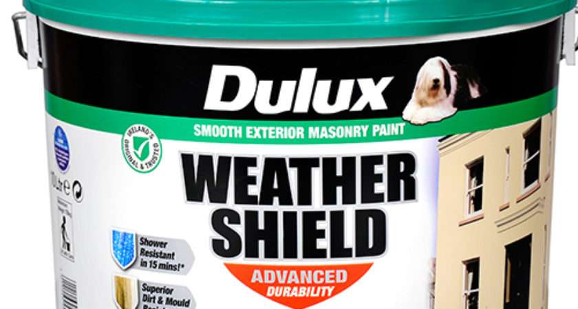 Dulux Weathershield Masonry Paint Brilliant White Litre