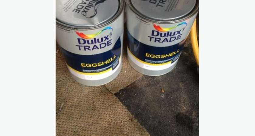Dulux White Eggshell Paint Dudley Wolverhampton