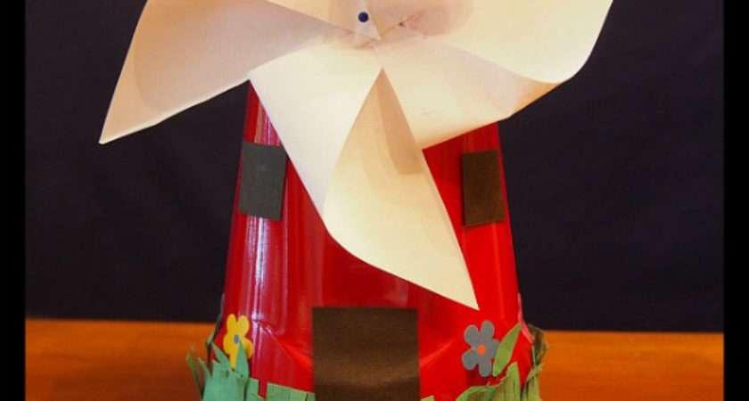 Dutch Windmill Craft Grandparentsplus