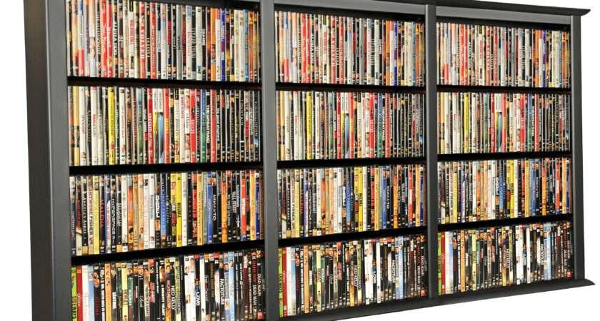 Dvd Storage Triple Wall Mount Cabinet Venture Horizon