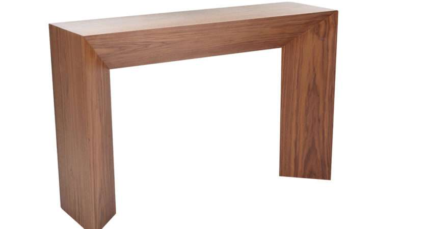 Dwell Sophia Console Table Walnut