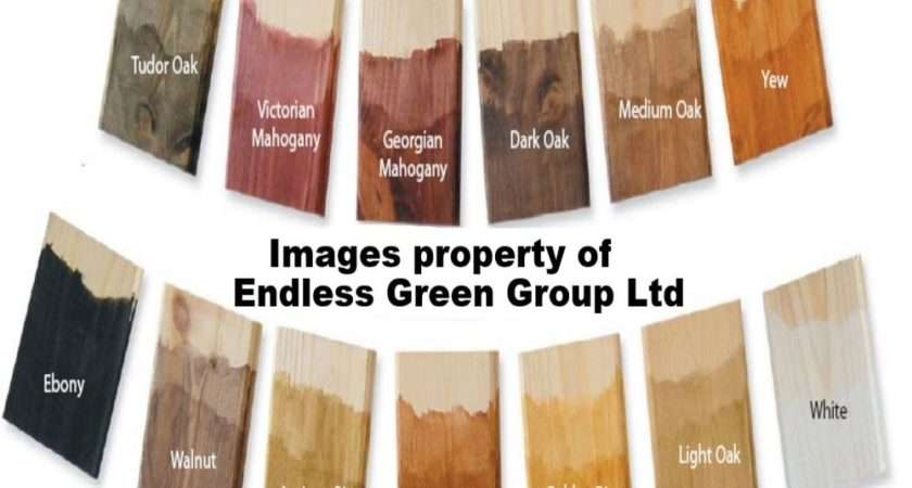 Dye Water Based Acrylic Wood Stain Choice Colour Ebay