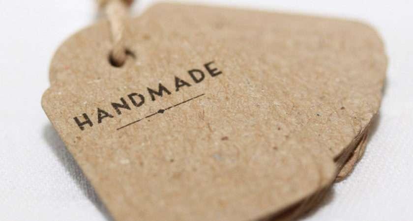 East India Mini Vintage Shop Labels Handmade Great