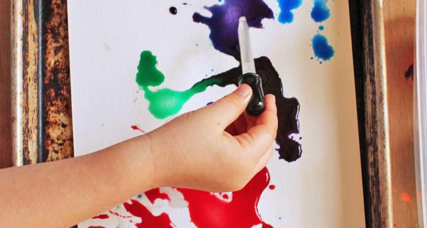 Easy Art Projects Kids Watercolors Oil