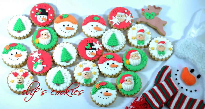 Easy Christmas Cookie Decorating Ideas All Cake