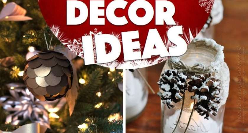 Easy Christmas Decorations Make Home Chair