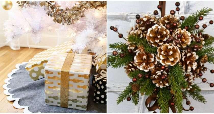 Easy Diy Christmas Decorations Homemade Ideas