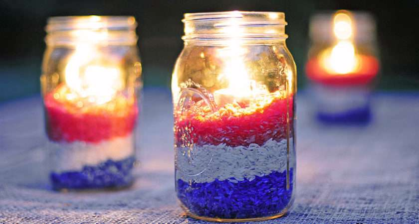 Easy Diy Red White Blue Party Decoration She Wears Many Hats
