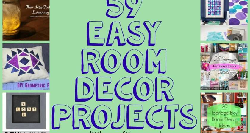 Easy Diy Room Decor Projects Little Craft Your Day