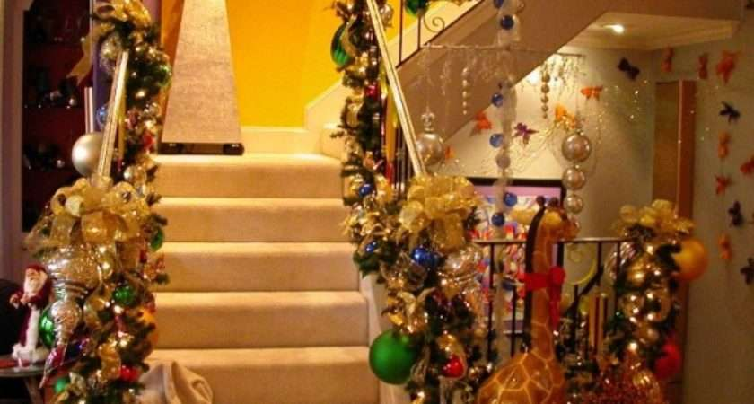 Easy Home Decor Ideas Decorate Staircase During