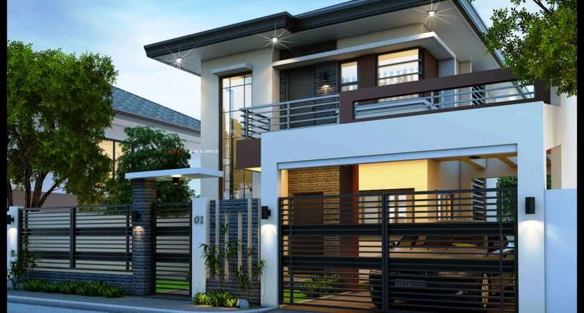 Easy Ideas Modern Storey House Designs