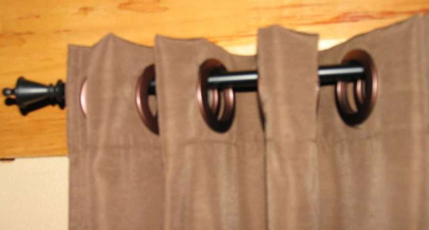 Easy Make Curtains Big Snap Rings Hanging