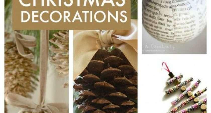 Easy Make Homemade Christmas Decorations
