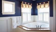 Easy Tips Help Decorating Navy Blue Bathroom Home