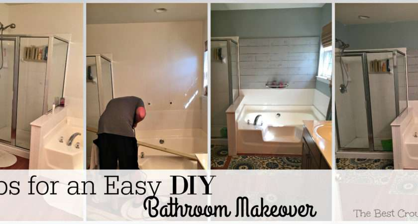 Easy Ways Give Little Fresher Look Our Master Bathroom