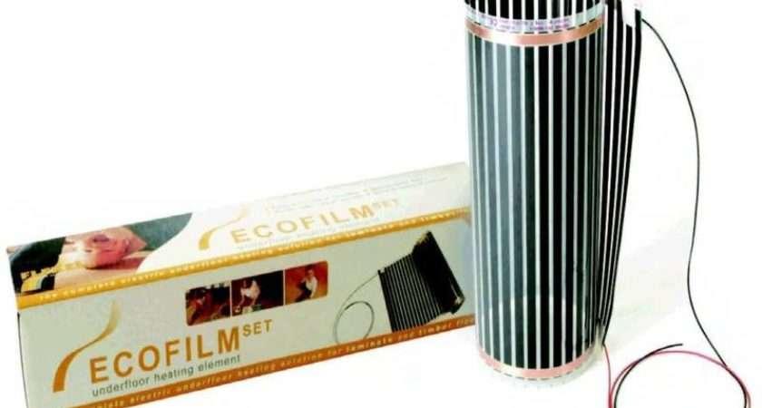 Ecofilm Underfloor Heating Laminate Timber Floors Ebay