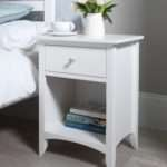 Edward Hopper White Furniture Bedside Table Chest