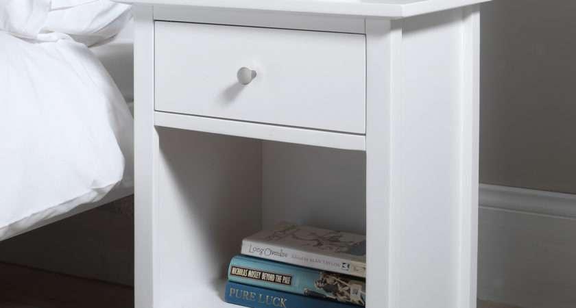 Edward Hopper White Furniture Bedside Table Chest