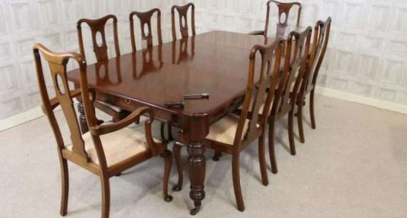 Edwardian Extending Table Chairs Antiques Atlas