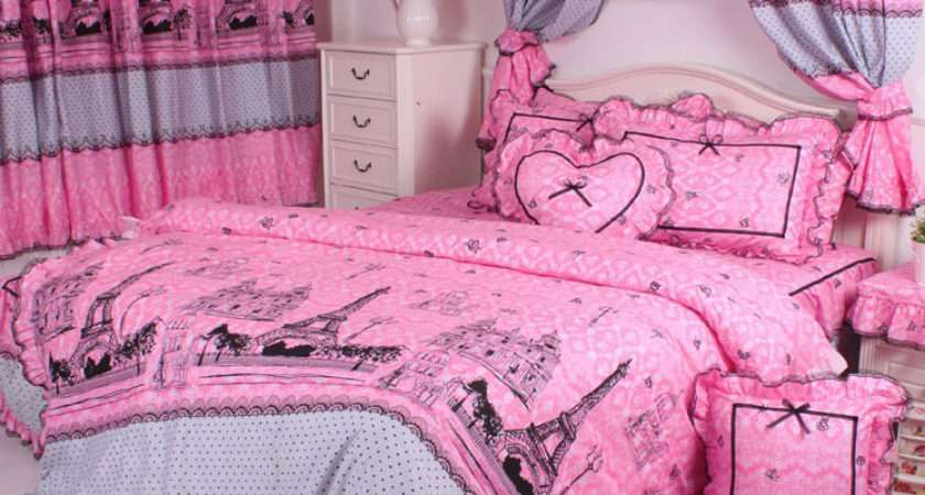 Eiffel Tower Bedding Easy Bedroom Decor