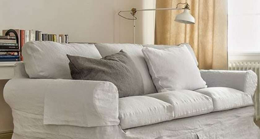 Ektorp Seater Sofa Cover Loose Fit Country Bemz