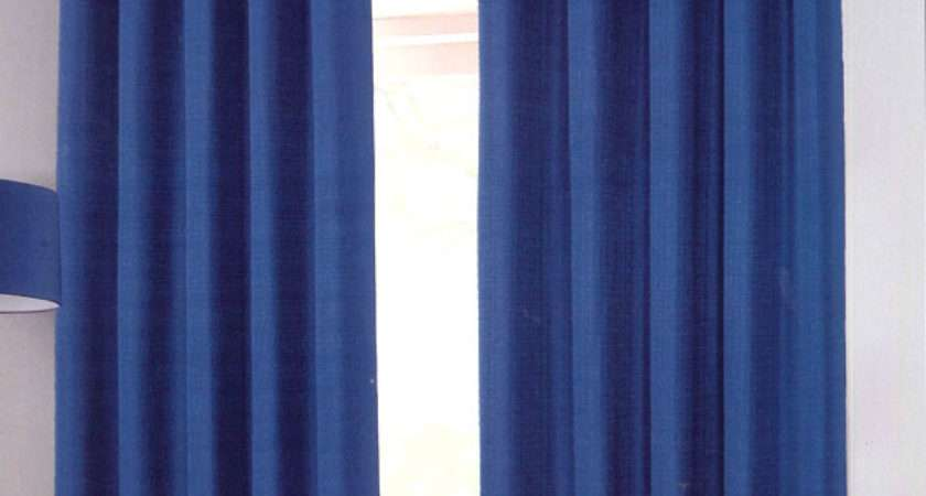 Electric Blue Curtains Savae