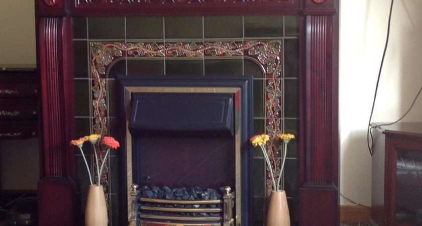 Electric Fire Tile Surround Buy Sale Trade Ads