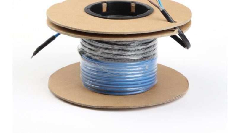 Electric Underfloor Heating Cable Best Sell Heat Tracing