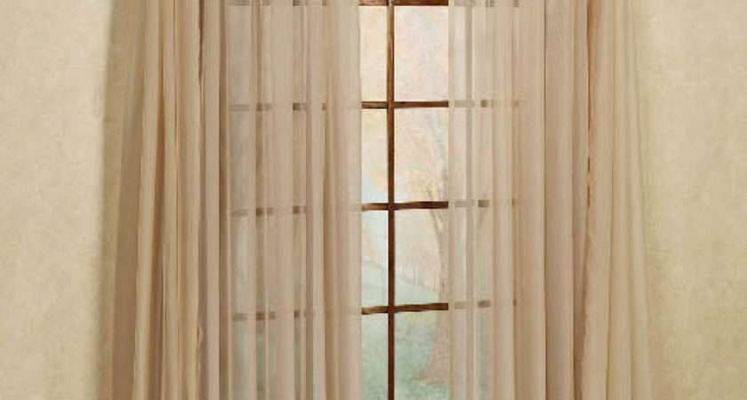Elegance Voile Curtain Smoked Blue Stylemaster