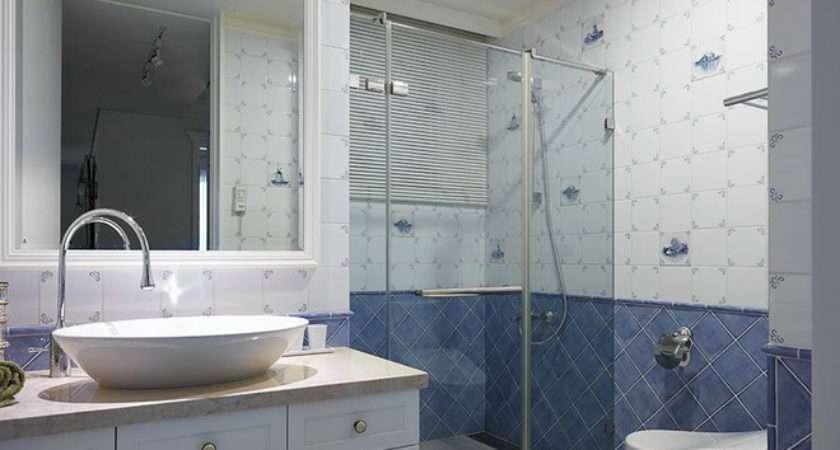 Elegant American Country Style Bathroom Design