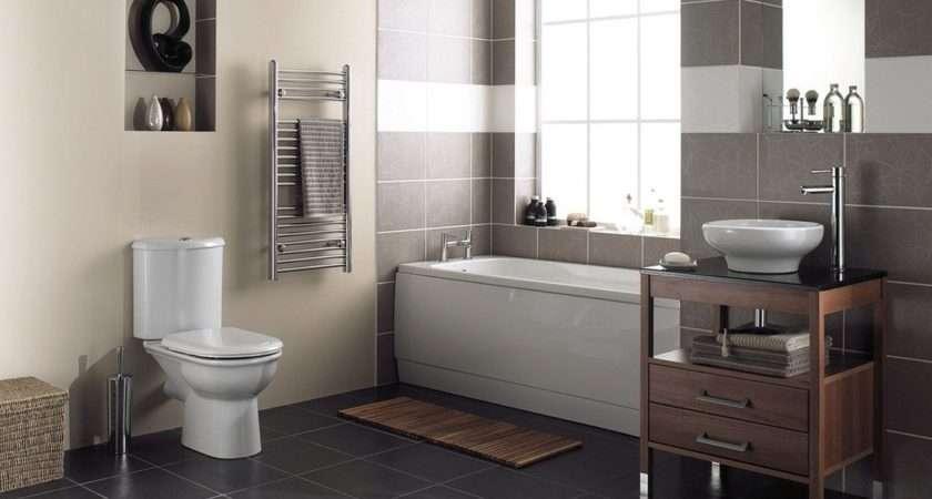 Elegant Bathroom Interior Rendering