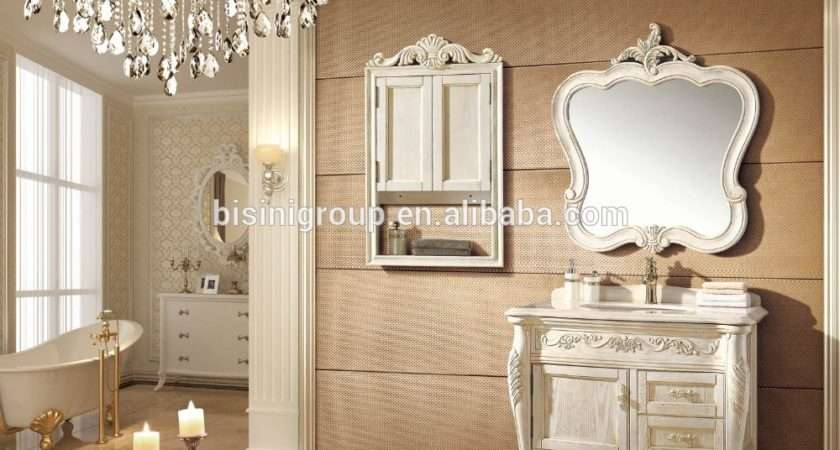 Elegant Cozy French Design Bathroom Furniture High End
