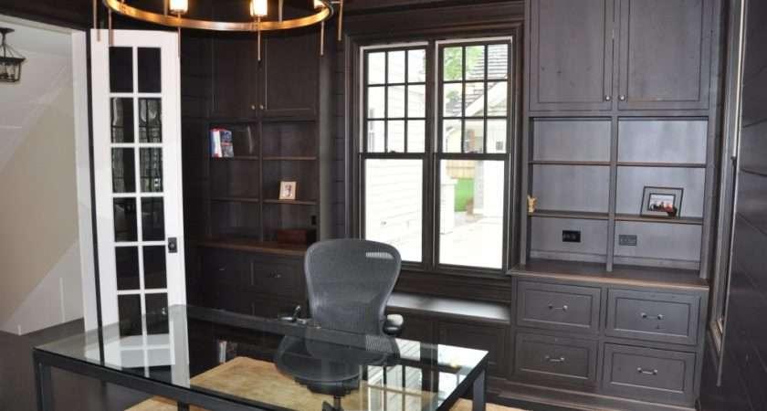 Elegant Home Office Cabinets Graber