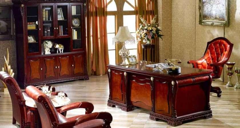 Elegant Home Office Furniture Executive