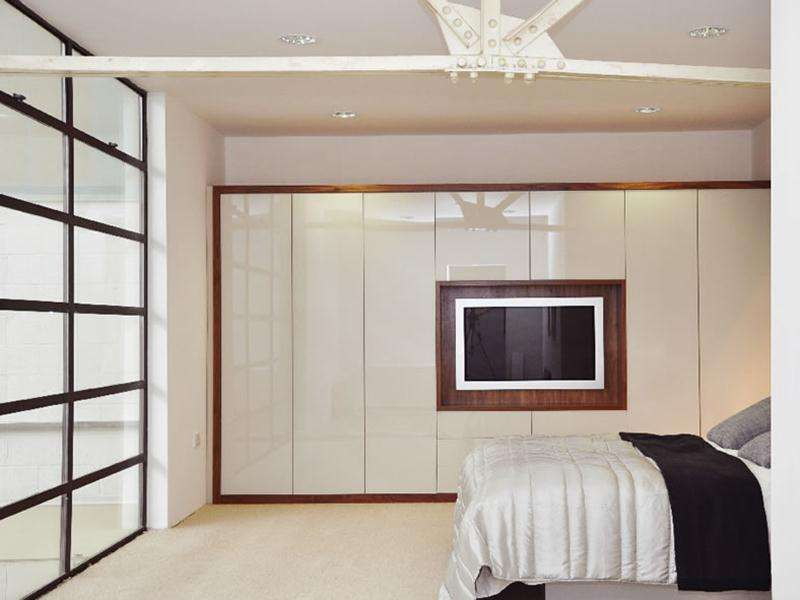 Elegant Master Bedrooms Design Fitted Wardrobe Home Decor