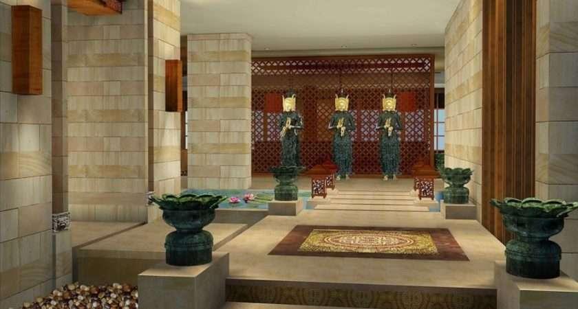 Elegant Natural Design Home Entrance Decor Has
