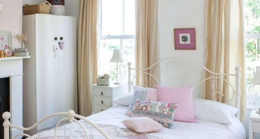 Elegant Pastel Bedroom Regarding Home Design Styles