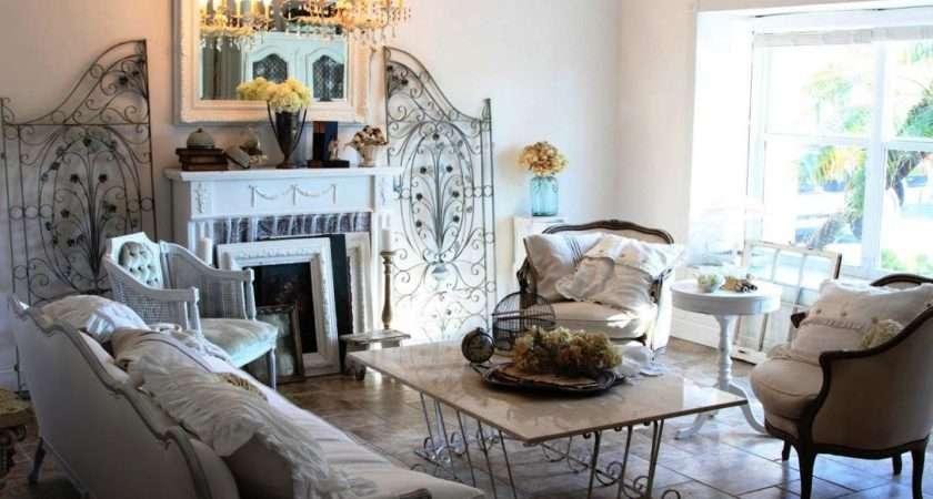 Elegant Shabby Chic Living Rooms Furnitureteams